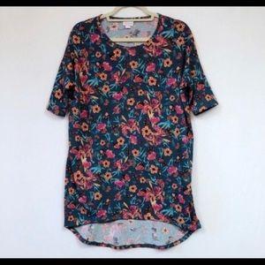 LulaRoe Irma Floral Print Size XXS